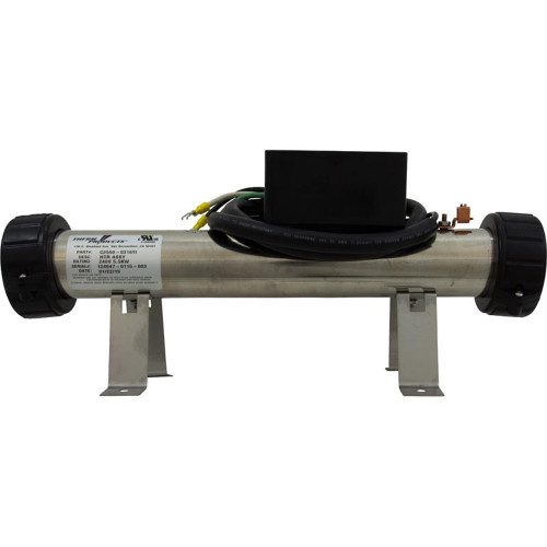 "C2550-0316TI Sundance 5.5kW replacement flow thru heater assembly, 230V, 15"" x 2"""