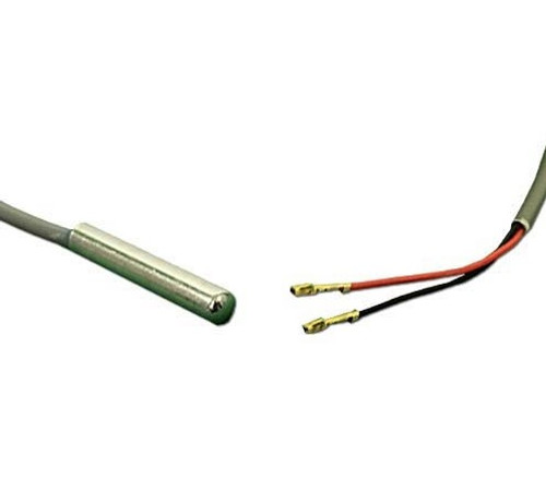"""6600-168  Sundance Hi-Limit Sensor,  22""""Cable x 1/4""""Bulb, (1995-2005 650, 850 & 2006+ 880), Spas w/Vertical Heaters, w/Box End Connector"""