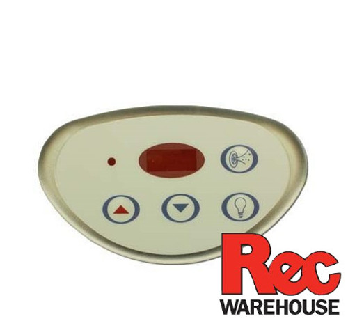 6600-641 Sundance Control, LX-10, 4-Button, LED, Light-Pump1-Down-Up
