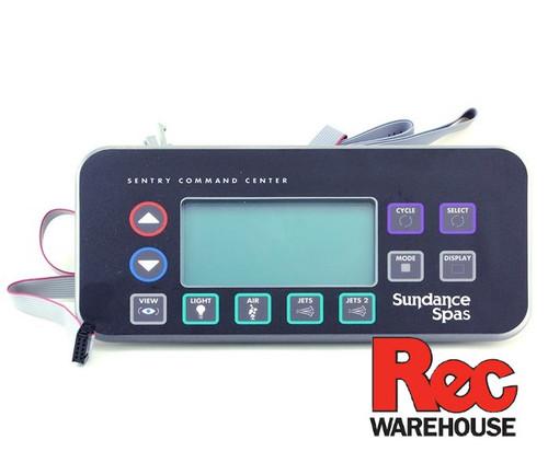 6600-803 Sundance Spaside Control, Sentry 800, 8-Button, LCD, Dual Loom