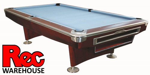 "7', 8', 9' President V Pro Mahogany 1"" Slate Pool Table"