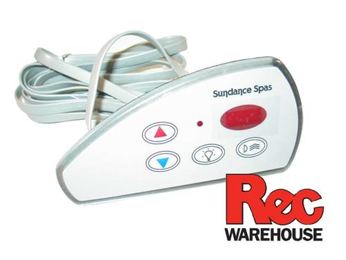 6600-833, SD6600-833, Sundance, Spaside, Top Side,  Control, LX-10, 4-Button, LED, Up-Down-Light-Pump1, spa. hot tub