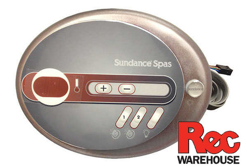 6600-682 Sundance Spaside Control, 680 SMT 201, 5-Button, LED, 2-Pump (06/2013 - Current)