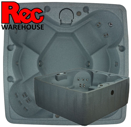 Elite 600 6-Person Plug-N-Play Spa Featuring 29 Stainless Steel Jets