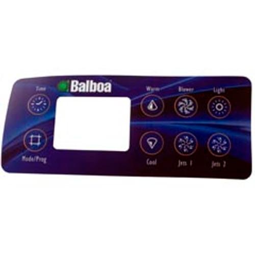 10763 Balboa VL801D 8 Button Spaside Overlay