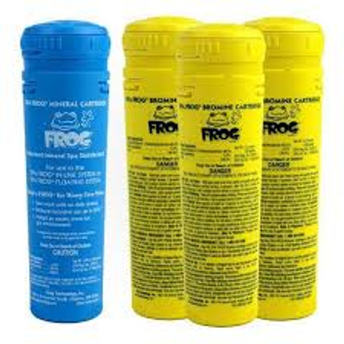 King Technology Spa Frog Cartridge Refill Kit