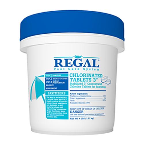 "REGAL 50 lb 3"" CHLORINATED TABS, FREE SHIPPING"