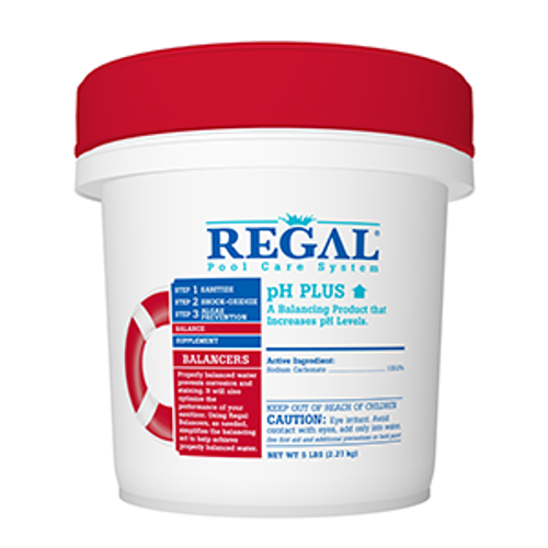 REGAL, 5lb, PH, PLUS, down, swimming, pool, chemical, FREE SHIPPING, biolab, bioguard, leslies, pinch a penny, RGL-50-2305