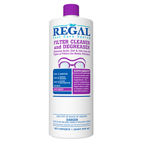 REGAL, QT, swimming, pool, hot, tub, spa, FILTER, cartridge, element, DE, CLEANER, DEGREASER, FREE SHIPPING, leslies, biolab, bioguard, pinch a penny