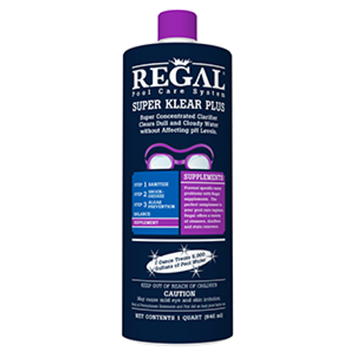 REGAL, QT, SUPER, KLEAR, blue, floc, FREE SHIPPING, biolab, bioguard, leslies, pinch a penny, swimming, pool, chemical, clarifier, RFG-50-2750