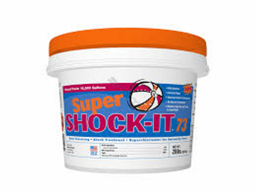 24 PACK, 1 LB, swimming pool, CALCIUM, HYPOCHLORITE, 4 PACK, 1 LB, of, Super, Ultra, Shock, Shock-It, 73%, Strength, FREE SHIPPING, W8001606, swimming pool, shock, granular, no, residual, dust free, regal, hth, Soluble, bag, pail, bucket, w8001605