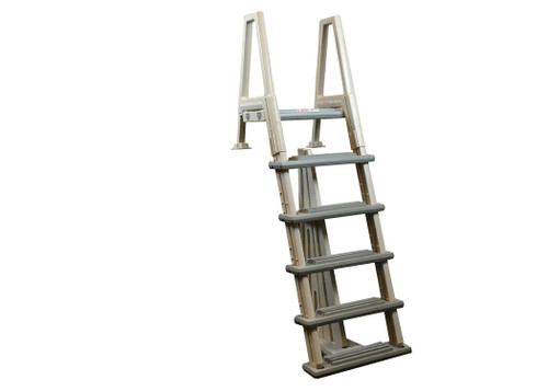 Confer ,Heavy Duty, above, ground, swimming, pool, Inpool, Ladder,w/ Barrier, FREE SHIPPING, 6000X