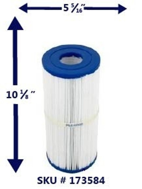 Leisure Bay 50 Sq' Filter Element for Celebrity & S2/G2  Hot Tubs - PLE-051-9237