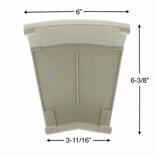 6 PACK, 21431, 35048,  Wilbar, Reprieve, Beige, gray, Top, Cap, FREE SHIPPING, 6 PACK, Sandstone, concord, arcadia, above, ground, swimming, pool