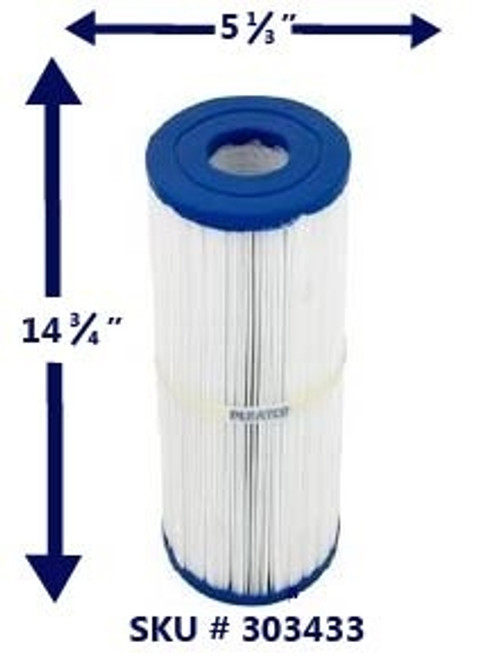 PLBS75, pleatco, 75, Sq, Ft, Filter, Element,Cartridge,  Leisure Bay, S2, /, G2 ,Series,  spa, Hot Tubs,  303433,  FC-2971,  SPG-051-2192, LP 75, 817-0015, c-5374, plbs75/m, 17540