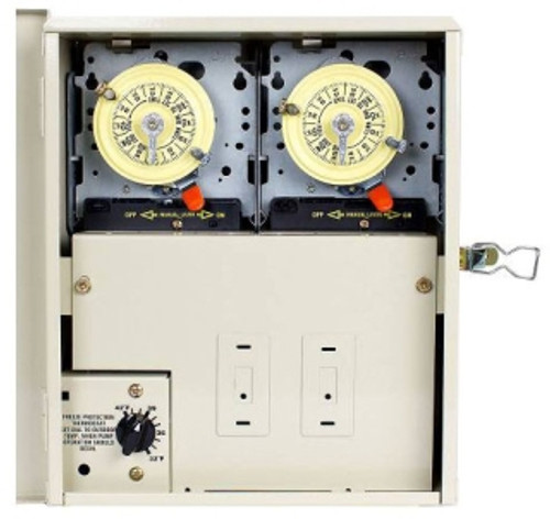 PF1202T, Intermatic Multi Circuit Freeze Protection Control For Pools w/Cleaner Two Time Switches, FREE SHIPPING