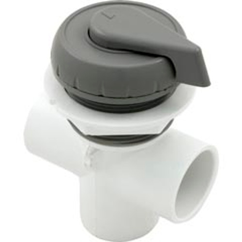 "600-4347, Waterway, Gray, 1"", 2, Port, Valve, FREE Shipping, diverter, hot, tub, spa. four, winds"