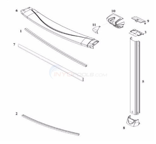 """2 PACK, 38782, Wilbar, Revelle, 52"""", steel, Upright, FREE SHIPPING, Oval, round, above, ground, swimming, pool"""