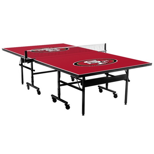 Stiga, Victory Tailgate, San Francisco, 49er's, NFL, Table Tennis, Ping pong, table, FREE SHIPPING, 9512706, classic, 9525656. field