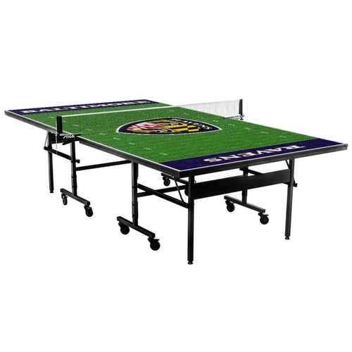 Stiga, Victory Tailgate, Baltimore Ravens, NFL, Table Tennis, Ping pong, table, FREE SHIPPING, 9512550, classic, 9525632 field