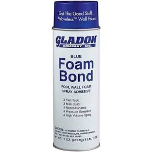 Gladon, 3M, Spray, blue, Foam, Bond, glue, swimming, pool,m wall, above grouind, inground, 17oz, FREE SHIPPING