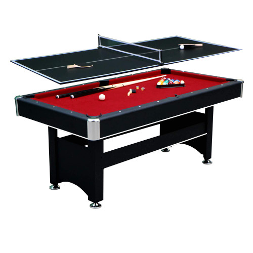 NG5031, Spartan, 6', Pool Table. table tennis, ping pong. combo, multi-game, Blue Wave, Hathaway