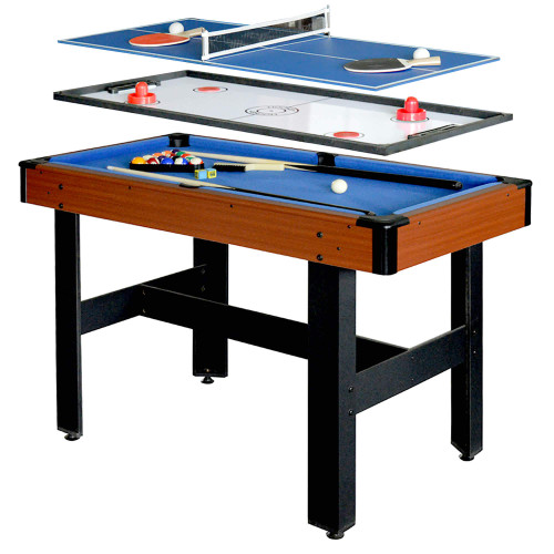"NG1131M, 48"", Triad, 3 In1, Multi, Combo, Game, Table, Pool, Glide Hockey, Table Tennis, Ping Pong, FREE SHIPPING"