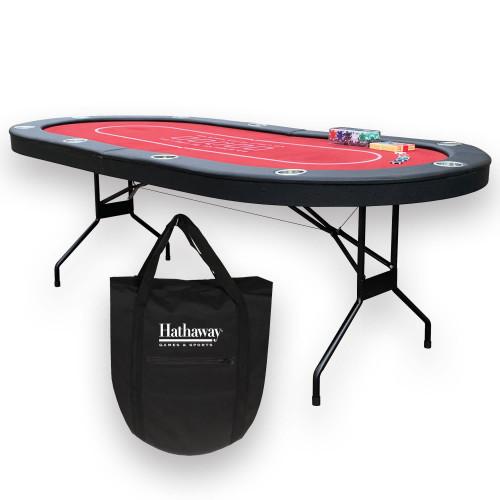 BG50353, Bluewave, Fourth Street, Folding, Texas Hold Em' Table, FREE SHIPPING, poker