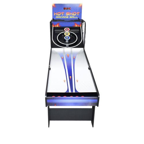 NG2015, 8', Skeeball, Hot Shot, Arcade, Game, FREE SHIPPING, Blue wave, hathaway