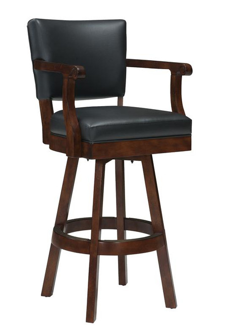 "30"" Legacy, Classic, Backed, Barstool, Arms, 4 Finish Options, FREE SHIPPING, onyx, nutmeg, port, shade, 103501, 10350504, 103505, 110089, wood"