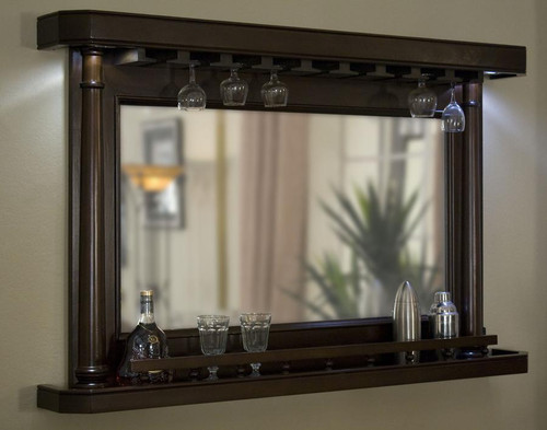 "Legacy, 55"", Mirrored, Sterling, Back Bar, 3 Finish Options, FREE SHIPPING, 103252, Port, 1032536, Nutmeg, 110105, Shade"