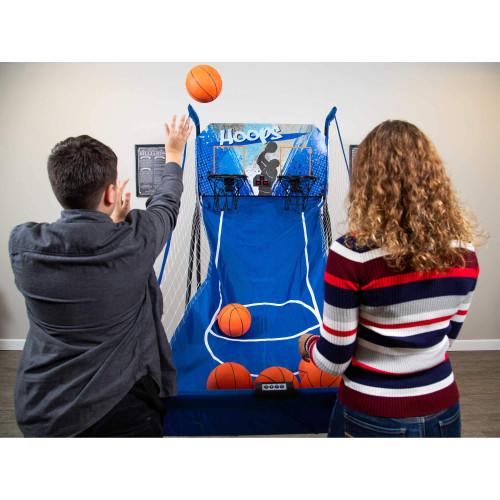 NG2237BL, Blue Wave, Hathaway, Pop-A-Shot, Hoops Dual, Basketball, Game, Electronic, Digital, Scoring, FREE SHIPPING