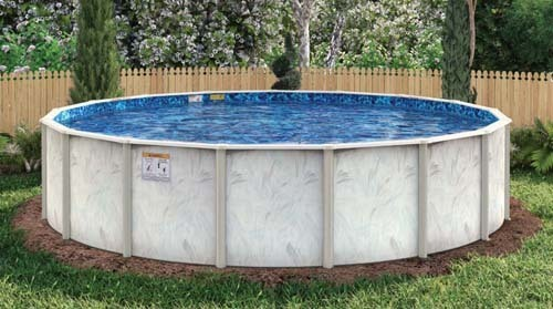"""52"""", Caspian, above, ground, swimming, pool, wall, frame, liner, Round, Oval, 15', 18', 21', 24'. 27', 10'x15', 12'x18', 12'x24', 15'x24', 15'x30', 18'x33', FREE SHIPPING, Hollowell, Doughboy, Lomart, replacement, installation, installed"""