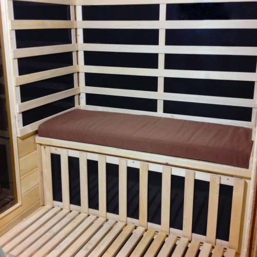 SA5052, Blue Wave, 2 Person, Sauna, Seat, Brown, Cushion, FREE SHIPPING