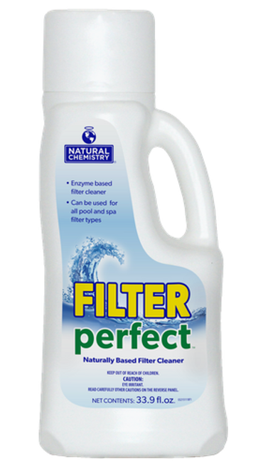 13215NCM, Filter Perfect™, by, Natural Chemistry, FREE SHIPPING, swimming pool, 1 Litre, Naturally Based Filter Cleaner, SMARTZyme technology