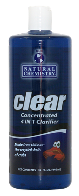 Clear™, Concentrated, 4-in-1, Clarifier, by, Natural Chemistry, FREE SHIPPING, chitosan, cloudy water