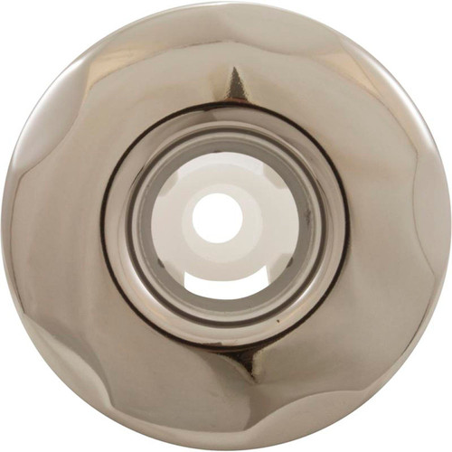 """CMP, Customer molded products, 23422-102-000, Jet Internal, 2"""", Typhoon 200,  Stainless Steel, Gray, 2"""", Scalloped face, Hot tub, spa"""