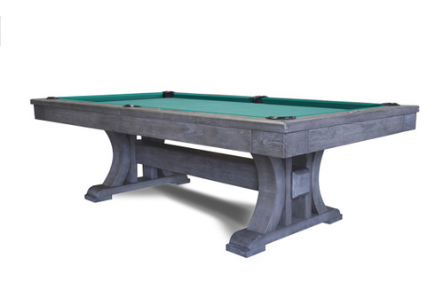 """7', 8', 1"""", slate, Pool, Billiard, Table, Prince, Rustic, all, wood, solid, Delta Billiards, 002-003P-7, 002-003P-8, installed, professional installation, commercial,"""
