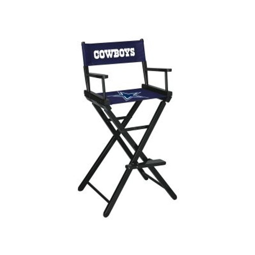 100-1002, Dallas, Cowboys, Packers, Bar, Height, Directors Chair, FREE SHIPPING