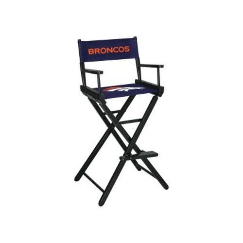 100-1003, Denver, Broncos, NFL, Bar, Height, Directors Chair, FREE SHIPPING