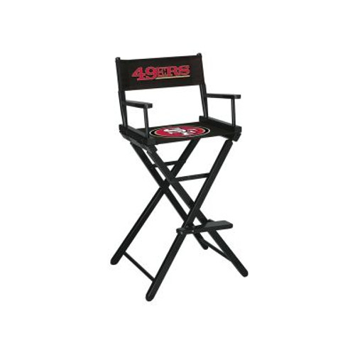 100-1005, San Francisco, SF, 49er's, NFL, Bar, Height, Directors Chair, FREE SHIPPING, Imperial