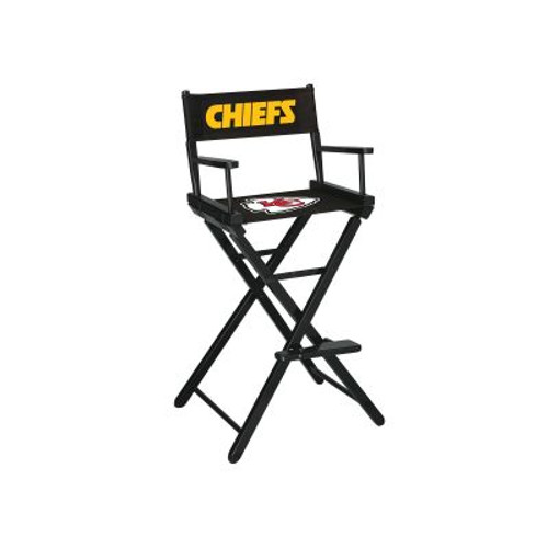 100-1006, KC, Kansas City, Chiefs, NFL, Bar, Height, Directors Chair, FREE SHIPPING, Imperial