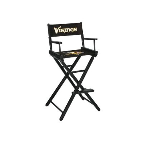 100-1007, KC, Minnesota, Vikings, NFL, Bar, Height, Directors Chair, FREE SHIPPING, Imperial