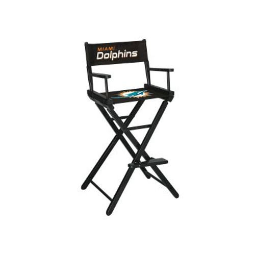 100-1008, Miami, Dolphins, NFL, Bar, Height, Directors Chair, FREE SHIPPING, Imperial