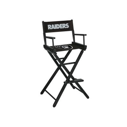 100-1010, LV, Las Vegas, Raiders, NFL, Bar, Height, Directors Chair, FREE SHIPPING, Imperial