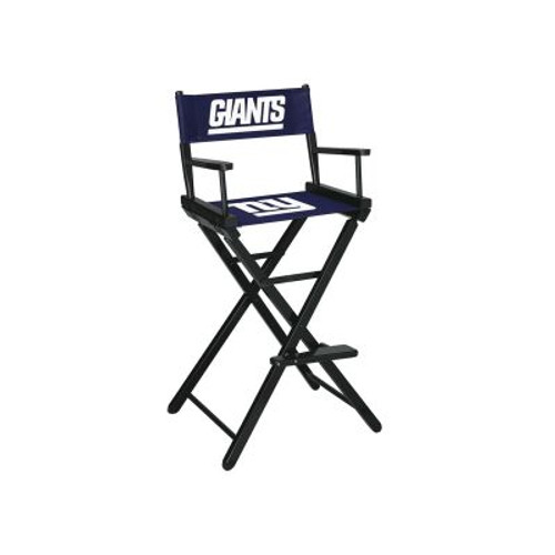 100-1013, NY, New York, Giants, NFL, Bar, Height, Directors Chair, FREE SHIPPING, Imperial
