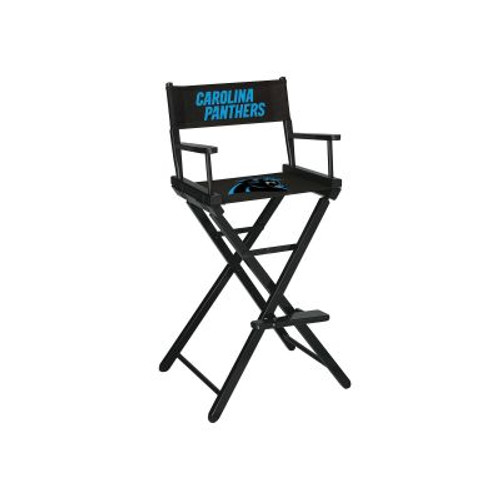 100-1017, Charlotte, Carolina, Panthers, NFL, Bar, Height, Directors Chair, FREE SHIPPING, Imperial
