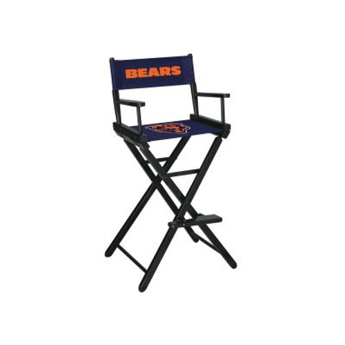 100-1019, Chicago, Bears, NFL, Bar, Height, Directors Chair, FREE SHIPPING, Imperial