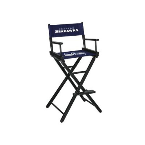 100-1024, Seattle, Seahawks, NFL, Bar, Height, Directors Chair, FREE SHIPPING, Imperial