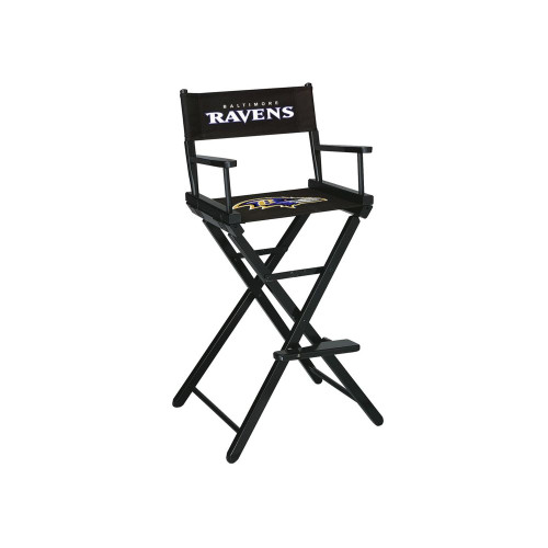 100-1025, Baltimore, Ravens, NFL, Bar, Height, Directors Chair, FREE SHIPPING, Imperial